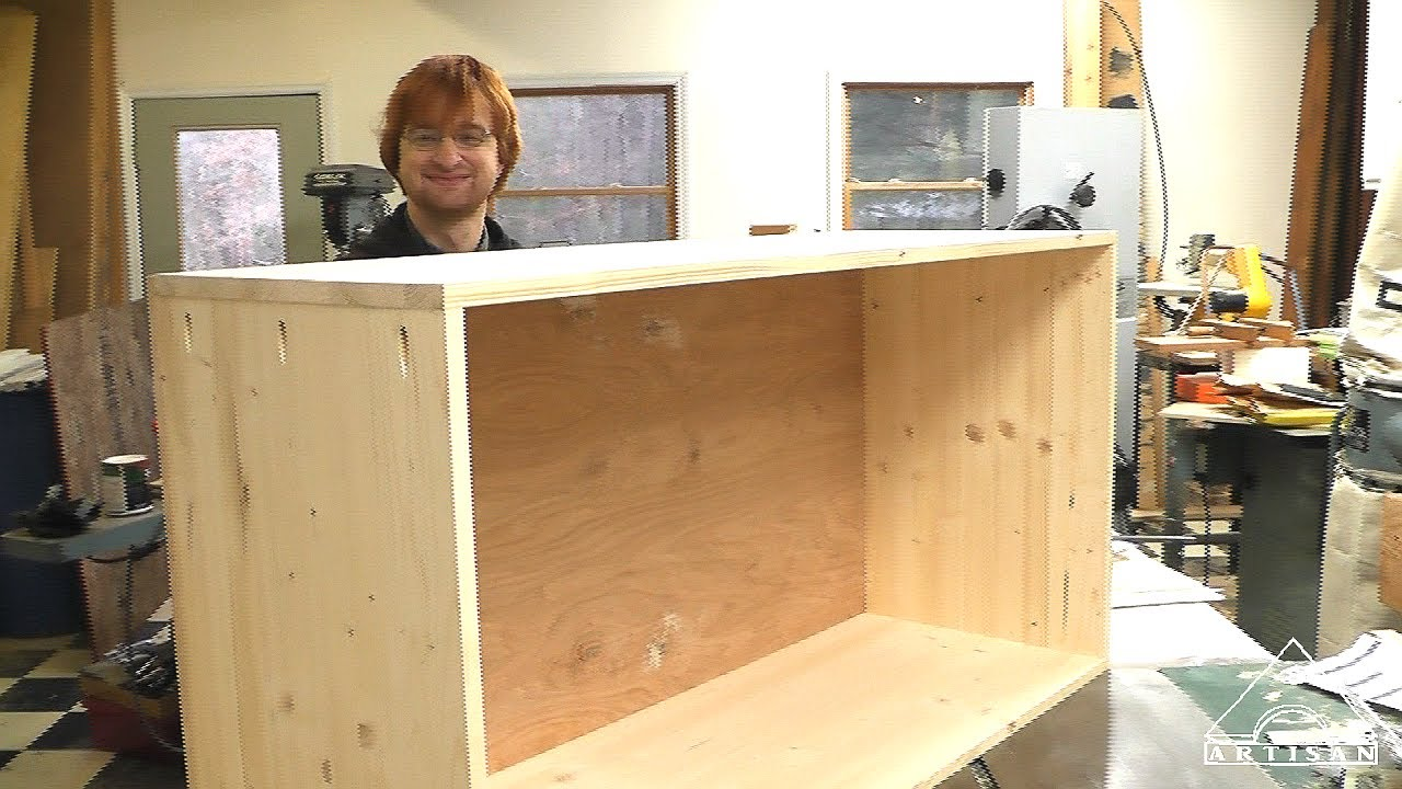New Easy To Make Cabinet Video Up On Construction You
