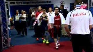 Мужчины 77 кг Толчок ЧМ-2013