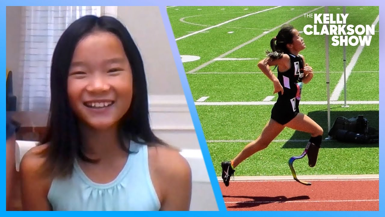 This 9-Year-Old Amputee Track Star Is Breaking Records