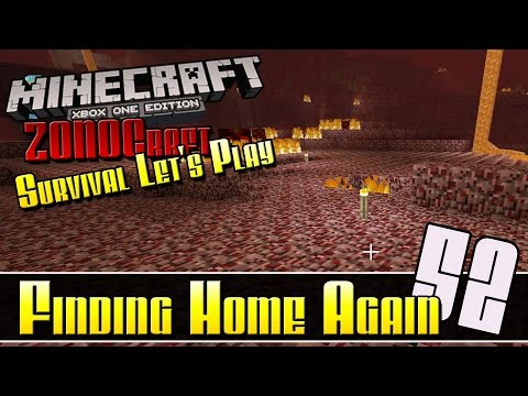 Minecraft Survival Let's Play :: Finding Home Again :: E52 :: Z One N Only