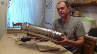 Делаем коптильню холодного копчения  Дымогенератор версия 2(, 2016-05-27T21:30:23.000Z)