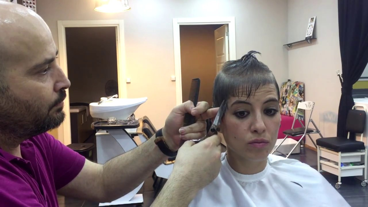 Gri Saç 2017 Kadin Kisa Saç Modeli 2 Youtube
