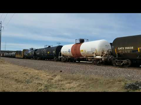 A busy afternoon of Union Pacific action in Cedar Rapids (03-29-18)