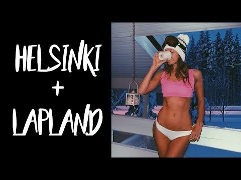 LAPLAND & HELSINKI - Finland Travel Vlog (Лапландия и Хельсинки)