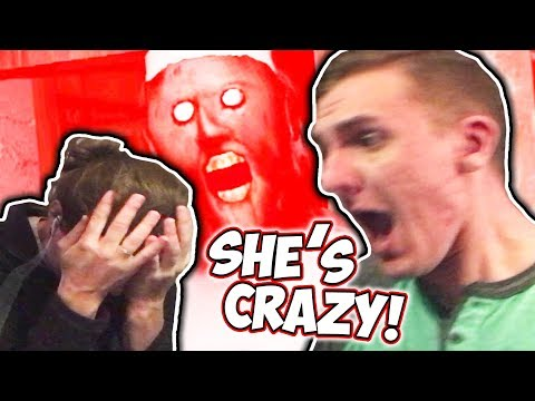 WE WERE BOTH ABSOLUTELY TERRIFIED! // Granny w/ GF Jess [Scary Horror Game]