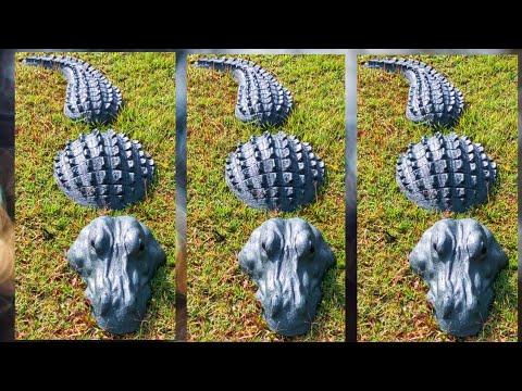 Garden Statue Ideas/Garden Decoration Ideas Homemade/cement Craft Ideas