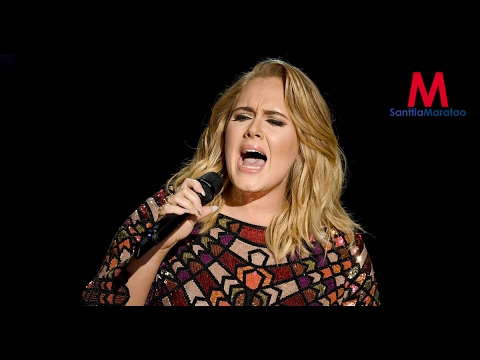 Adele Performs Hello (Live At Grammys 2017)