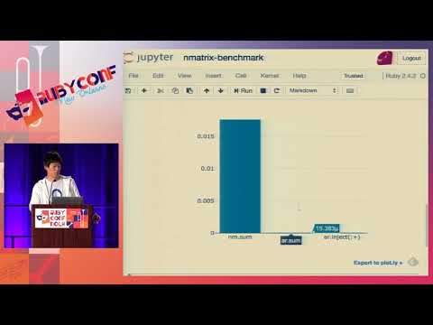 RubyConf 2017: Using Ruby in data science by Kenta Murata