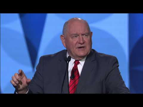 Sec of Agriculture Sonny Perdue Address to American Farm Bureau