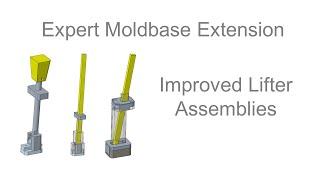 Creo Parametric - Expert Moldbase Extension - Improved Lifter Assemblies