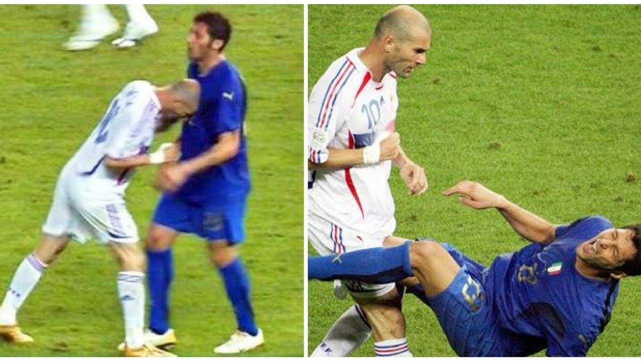 Storia della testata di Zidane a Materazzi nella finale 2006 - Storia del  calcio #45 - YouTube