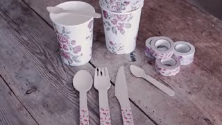 Diy: Decorated Cutlery By Søstrene Grene