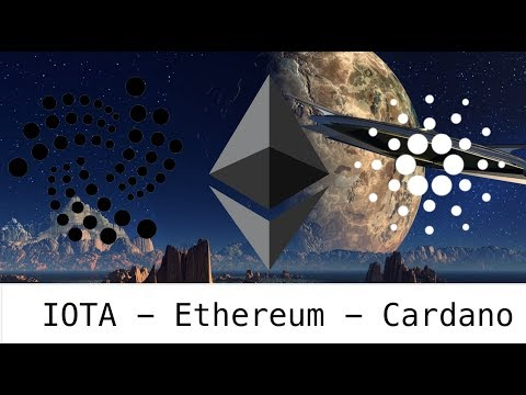 Buy IOTA-  Buy Cardano - Buy EThereum? 2018 Blockchain and Tangle Ledger Moon