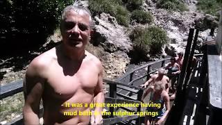 St Lucia Caribbean sulphur springs mud bath part 3 Санта Лючия карибское море часть 3