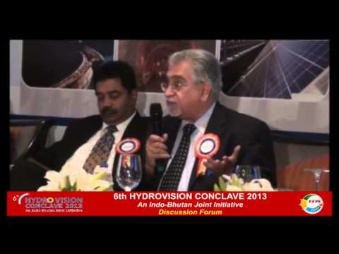 6th HydroVision Conclave 2013 Day 1 (Post Lunch - Part II)-An indo-Bhutan Joint Initiative
