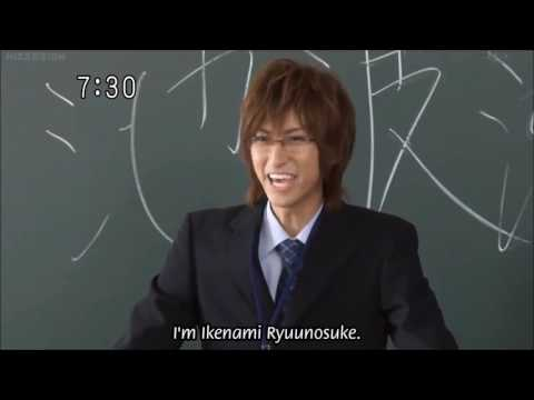 Ryunosuke kills himself on hard wood