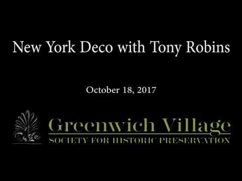 New York Deco with Tony Robins 10/18/17
