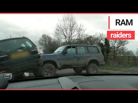 Video Of Frightening Moment Animal Activists Were Repeatedly RAMMED By A 4x4 | SWNS TV