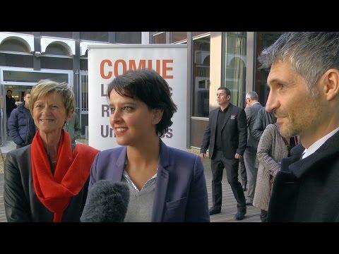 Madame Najat Vallaud-Belkacem visite le Centre de Soins Universitaire de Montpellier