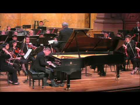 Geoffrey Burleson performs Beethoven Concerto #4 with the Princeton University Orchestra