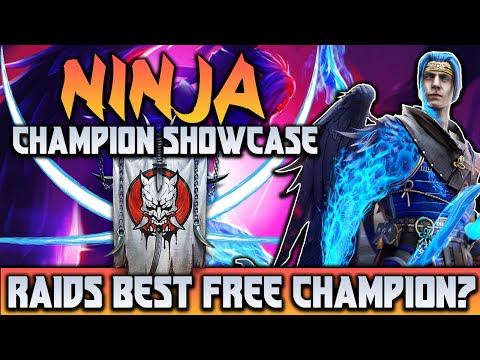 NINJA | Champion Spotlight | 100% MAXED Showcase | Free Legendary | Raid Shadow Legends