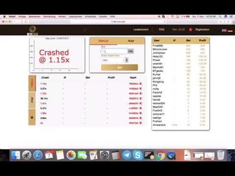 Online schnell und einfach geld verdienen mit BTC Run
