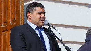 Председатель НСГ принял участие на митинге водителей против повышения штрафов