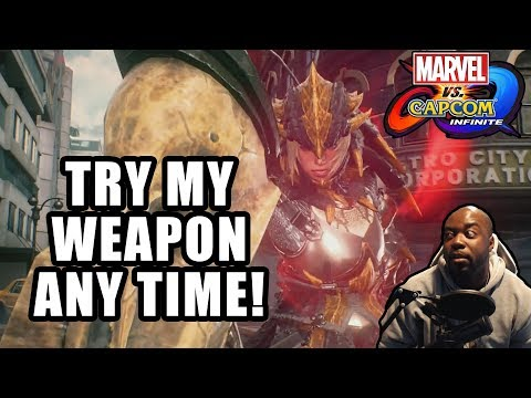 TRY MY WEAPON ANY TIME | Marvel vs Capcom Infinite | Black Panther and Monster Hunter Online