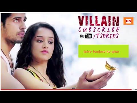 new hindi song banjara,hindi movie song,latest hindi song,song of movie ek villain