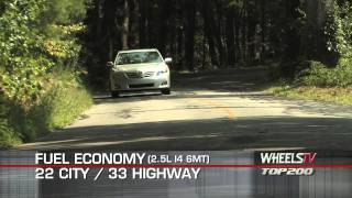 2011 Toyota Camry Test Drive