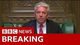 Speaker welcomes MPs back to their 'place of work' - BBC News