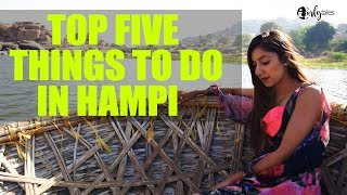 Top Five Things To Do In Hampi | Curly Tales
