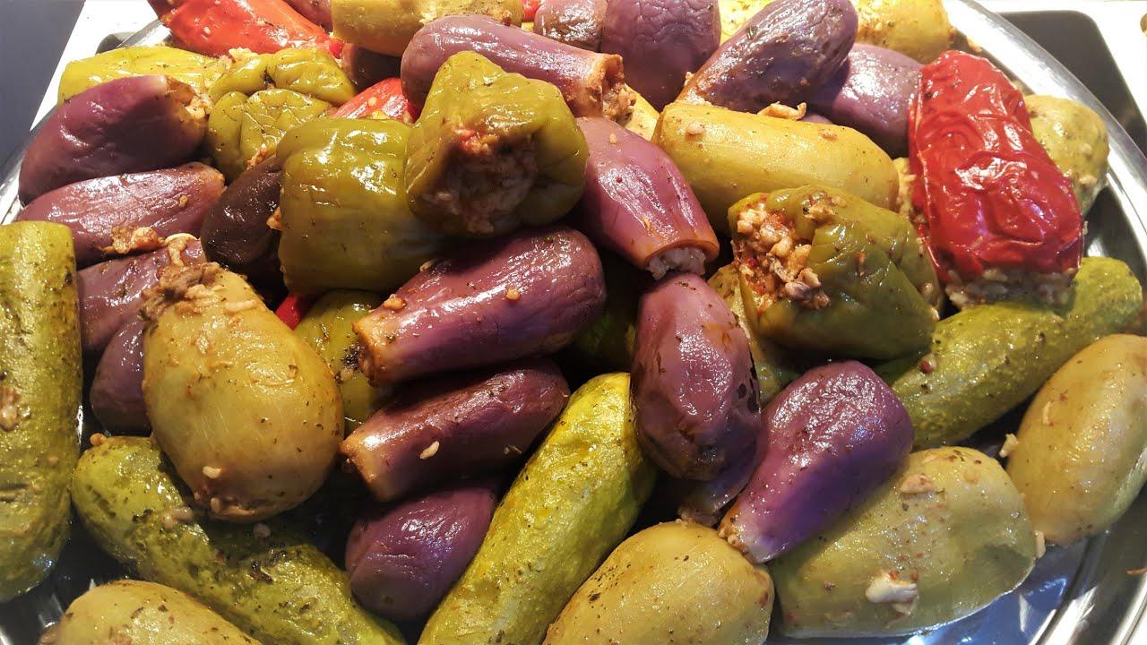 طريقة تحضير محاشي مشكلة على الطريقة السورية اكلة منظومة و طعم غير شكل