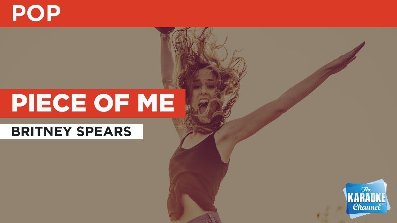 Piece Of Me : Britney Spears | Karaoke with Lyrics