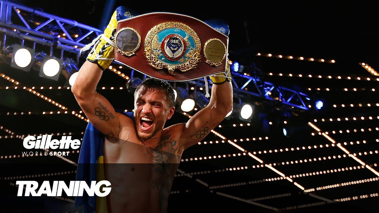 Boxing Training with World Champion Vasyl Lomachenko | Gillette World Sport