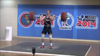 2014 Pan American Weightlifting Championships 105kg Category