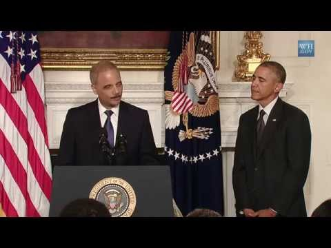 Attorney General Eric Holder Resigns