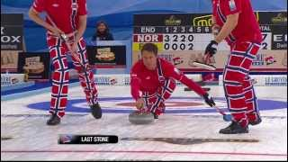 CURLING: NOR-FRA Euro Chps 2013 - Men Draw 2 HIGHLIGHTS
