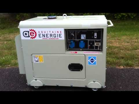 Groupe lectrog ne diesel insonoris 7kva 230v doovi - A quoi sert un groupe electrogene ...