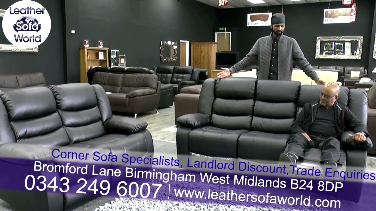 Leather Sofa World Birmingham