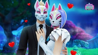 DRIFT AND CATALYST GET MARRIED IN SECRET | Fortnite Short Film
