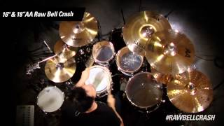 "Cymbal Vote - Rodney Howard - Demo - 16""AA Raw Bell Crash"