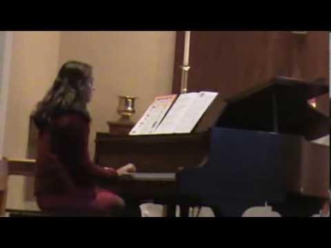 Elizabeth Snyder Piano - Music and Arts Recital