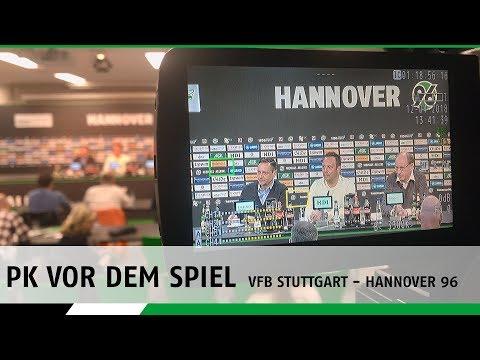 RE-LIVE | Die PK vor dem Spiel | VfB Stuttgart - Hannover 96