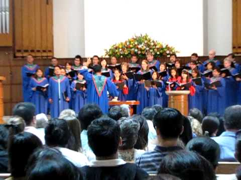 Dana Sianghio - Prayer of St. Francis Solo with Chancel Choir