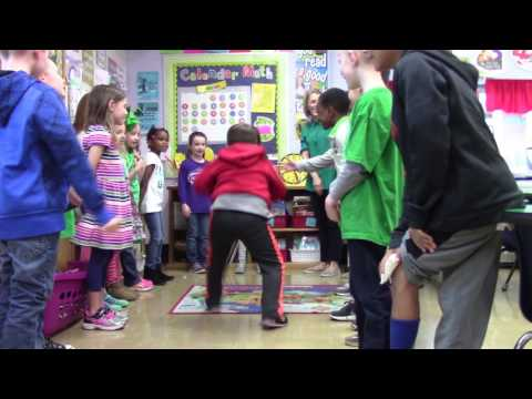 Mrs. G's First Grade Morning Meeting- Hit The Floor