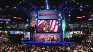 Mary J. Blige Performs at the 2012 Democratic National Convention
