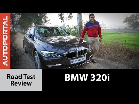 BMW 320i Petrol Test Drive Review - Autoportal