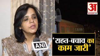 Kanpur Train Accident के बाद का हाल, सुनिए क्या Updates दे रहीं हैं रेलवे अधिकारी