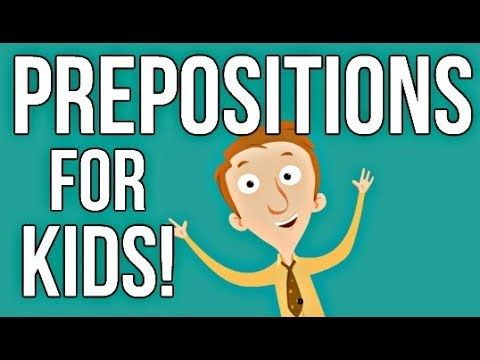 Prepositions for Kids | English Grammar Video